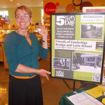 $15,287.91 to be donated to FOCRLS by Whole Foods Markets! (9/21/2012)